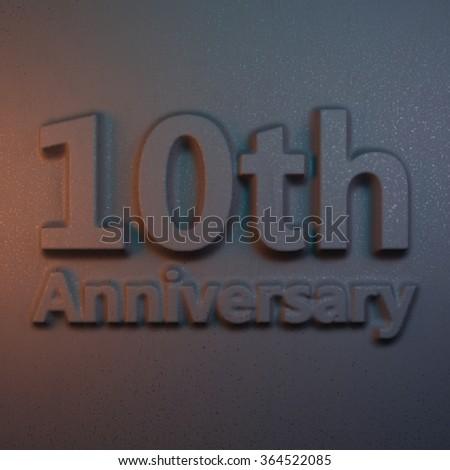 10th anniversary #364522085