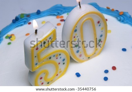 A Cartoon of a Baker with a Birthday Cake - Royalty Free Clipart Picture