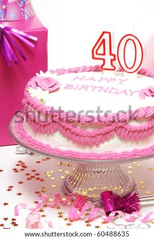 40th Birthday Scene
