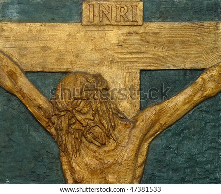 12th Station of the Cross - Jesus dies on the cross