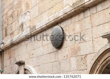 6th Station of the Cross on Via dolorosa, Jerusalem, Israel