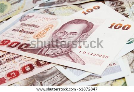Thai money  background