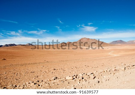 The Andes, near Atacama (chile)