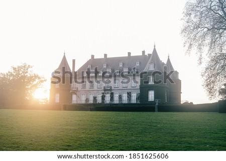 The castle of a Belgian count Stok fotoğraf ©