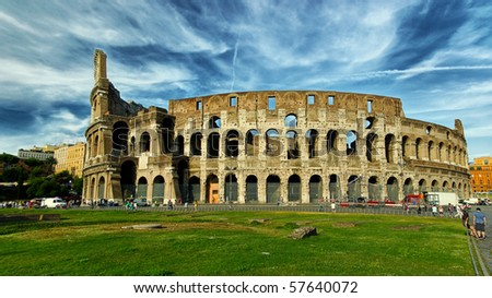 The Colosseum, hdr picture