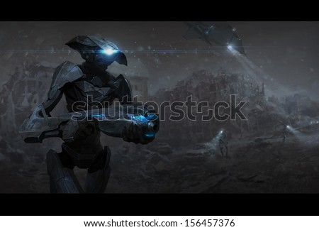 The dead Earth