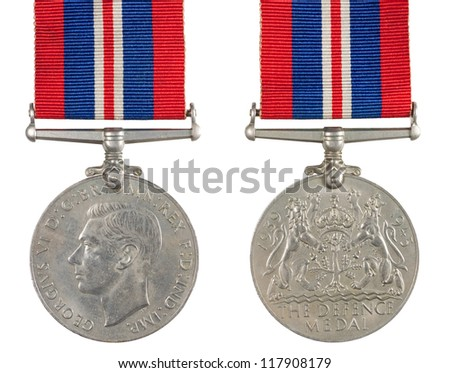 1939-1945 The Defence Medal inscription GEORGIVS VI D G BR OMN REX F D IND IMP