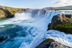 the Icelandic waterfall called