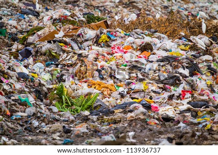 the landfill Thailand