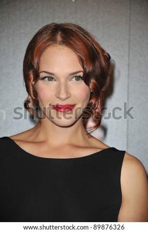stock photo The Mentalist star Amanda Righetti at TV Guide Magazine 39s