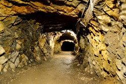 The mysterious Włodarz Adit, Riese complex in Lower Silesia. Tunnels hollowed by the Germans during the Second World War. treasure hiding place
