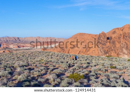 The Valley of Fire State Park , Nevada