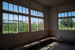 The view from the Abashiri prison room