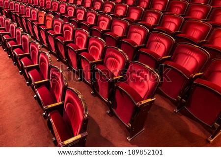 theater auditorium, interior