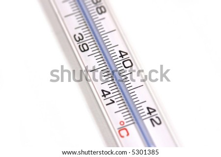 thermometer close up