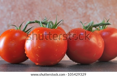 Tomatoes. - stock photo