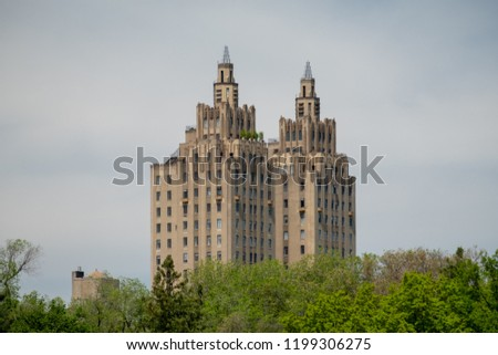 2 Towers from Centralpark