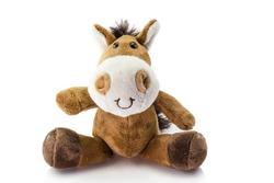 toy  horse isolated on white background