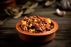 traditional Argentine hot lentil stew