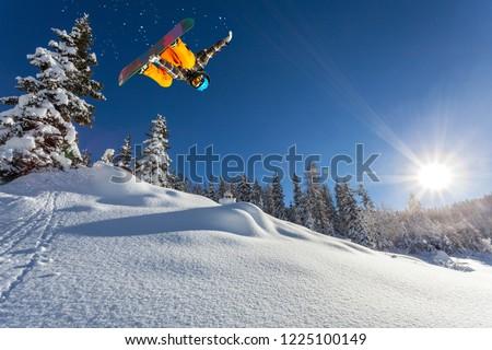 trick in fresh snow  #1225100149