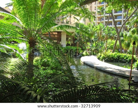 Tropical waterway