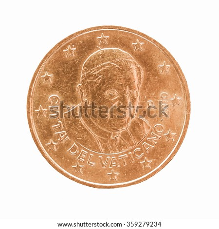 twenty euro cent coin from...