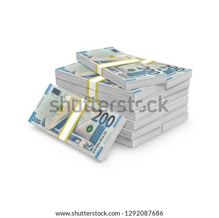 200 two hundred Azerbaijani manat