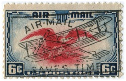 1938 US 6 cent Air Mail Stamp