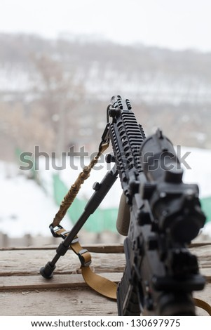 US Spec Ops M4A1 - stock photo