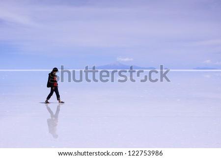 Uyuni Salt Flat Reflection