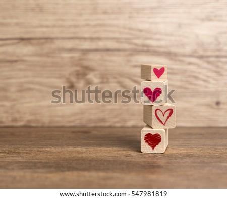 Valentine's Day, Love background, Heart background. Love, Hearts. #547981819