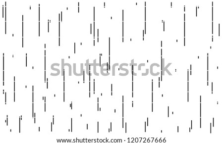 Vertical Stripe Pattern.Black and White Background.