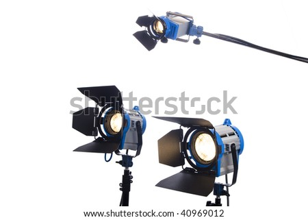 3 video or movie lamps