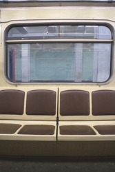 view from the metro carriage