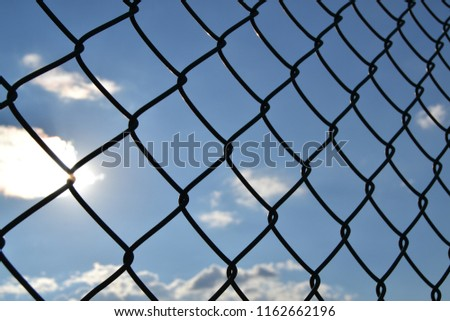 view of clouds and net  #1162662196