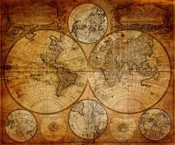 vintage map 1746 Johann Baptist Homann(1663-1724) Nurenberg Germany
