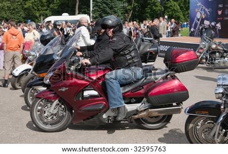 "VLADIMIR - JUNE 19: ""Harley-Davidson Club Russia""  International Rally Suzdal 2009 Event June 19, 2009 in Vladimir, Russia"