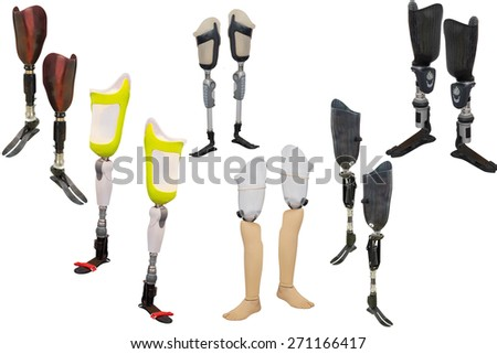 walking sticks under thew white background  Stock photo ©