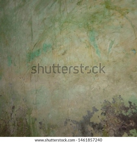 walls that have faded colors
