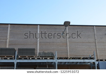 Warehouse with materials for construction #1225951072