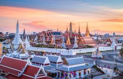 Wat Phra Kaew in Bangkok.,Thailand