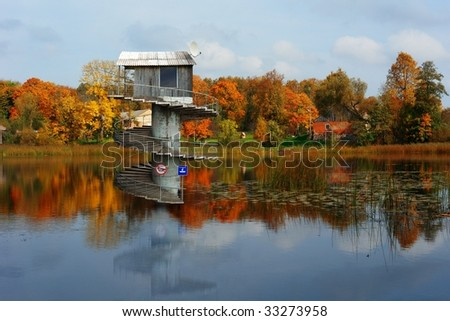 \'water house\'
