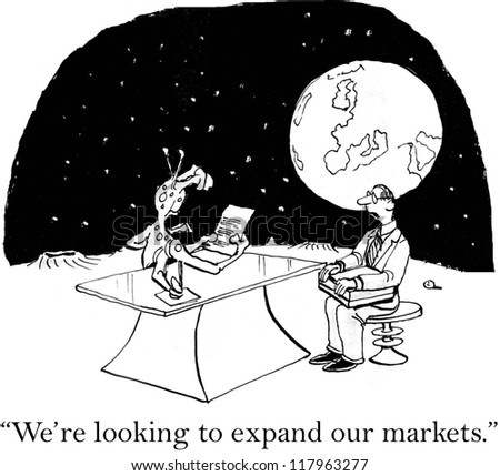 """We're looking to expand our markets."""