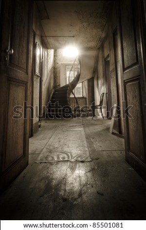 """Welcome"", this images opens the doors to another world."