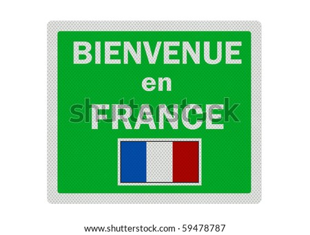 welcome  french