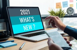 2021 what's new ? with business trend.creativity to success.technology transformation