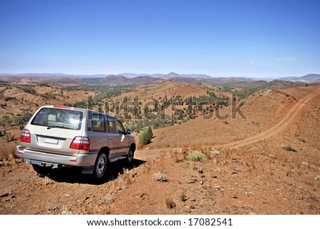 4 wheel drive in Flinders National Park in Australia