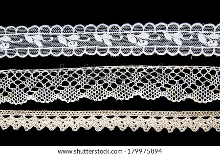 white lace pattern background