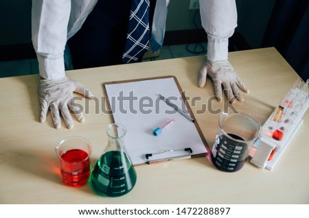 Wit is researching new drugs. Used in medicine