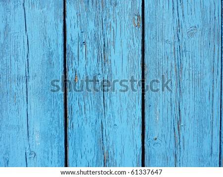 wood painted blue closeup,fisherman's boat house door detail